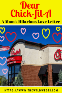 Chick-fil-A - Every Mom's Survival Strategy! Whether you have babies, toddlers, preschoolers or beyond, the days can be long and trying to come up with entertaining activities for kids can be tough. Plus, making dinner for your family is often a struggle. Chick-fil-A to the rescue! This love letter is the laugh every mom needs! #survivalstrategies #momlife #chickfila #sahm