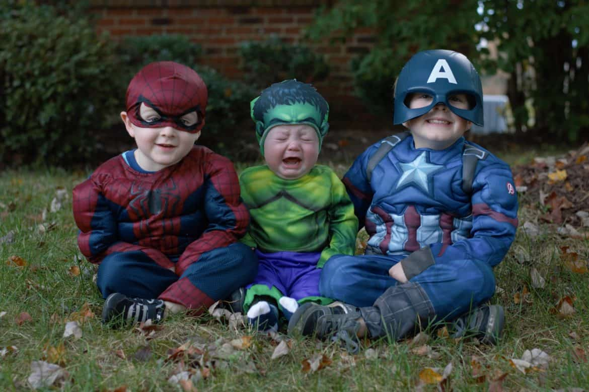 Moms are superheros with special powers!