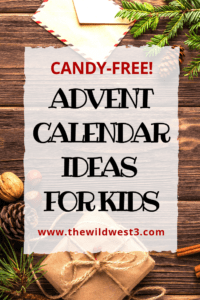 DIY Advent calendar ideas for kids without candy! Celebrating #Advent and #Christmas with kids doesn't have to be expensive or unhealthy. Check out these #adventcalendar ideas with your kids this Christmas season!