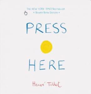 Read Aloud Book Title: Press here