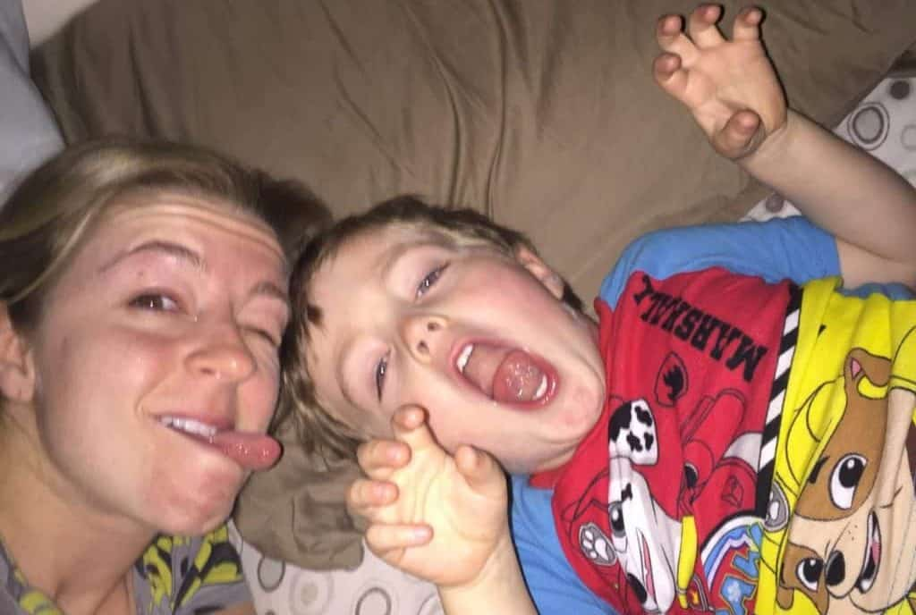 13 sleep-deprived quotes mom and kid