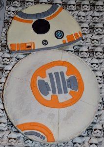 Star Wars Birthday Party Cake BB8