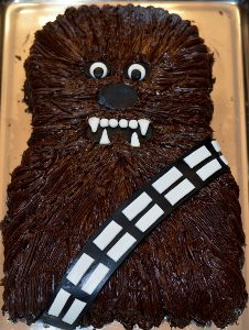Star Wars Cake - Chewbacca Cake
