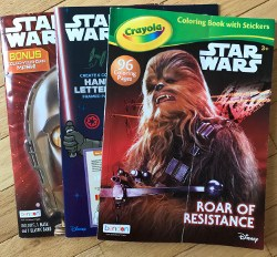 Star Wars Party Favors - star wars coloring books