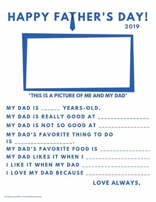 photograph relating to Dad Questionnaire Printable known as Fathers Working day Questionnaire Printable: An Uncomplicated Home made
