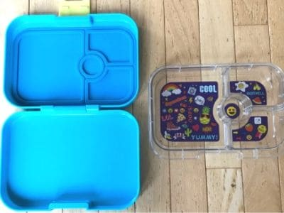 best lunchbox shown open and disassembled in two pieces