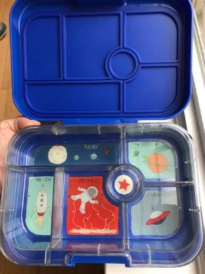 the best lunchbox for kindergarten pictured empty