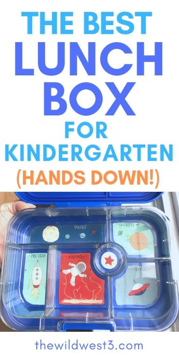 the best lunchbox for kindergarten hands down printed above the box
