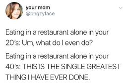bad parenting quotes about eating alone