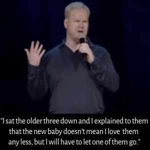 bad parenting quotes from jim gaffigan