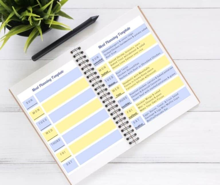 Meal Planning for Families: The Weekly Meal Plan Template That Completely Changed Our Family Dinner Plan