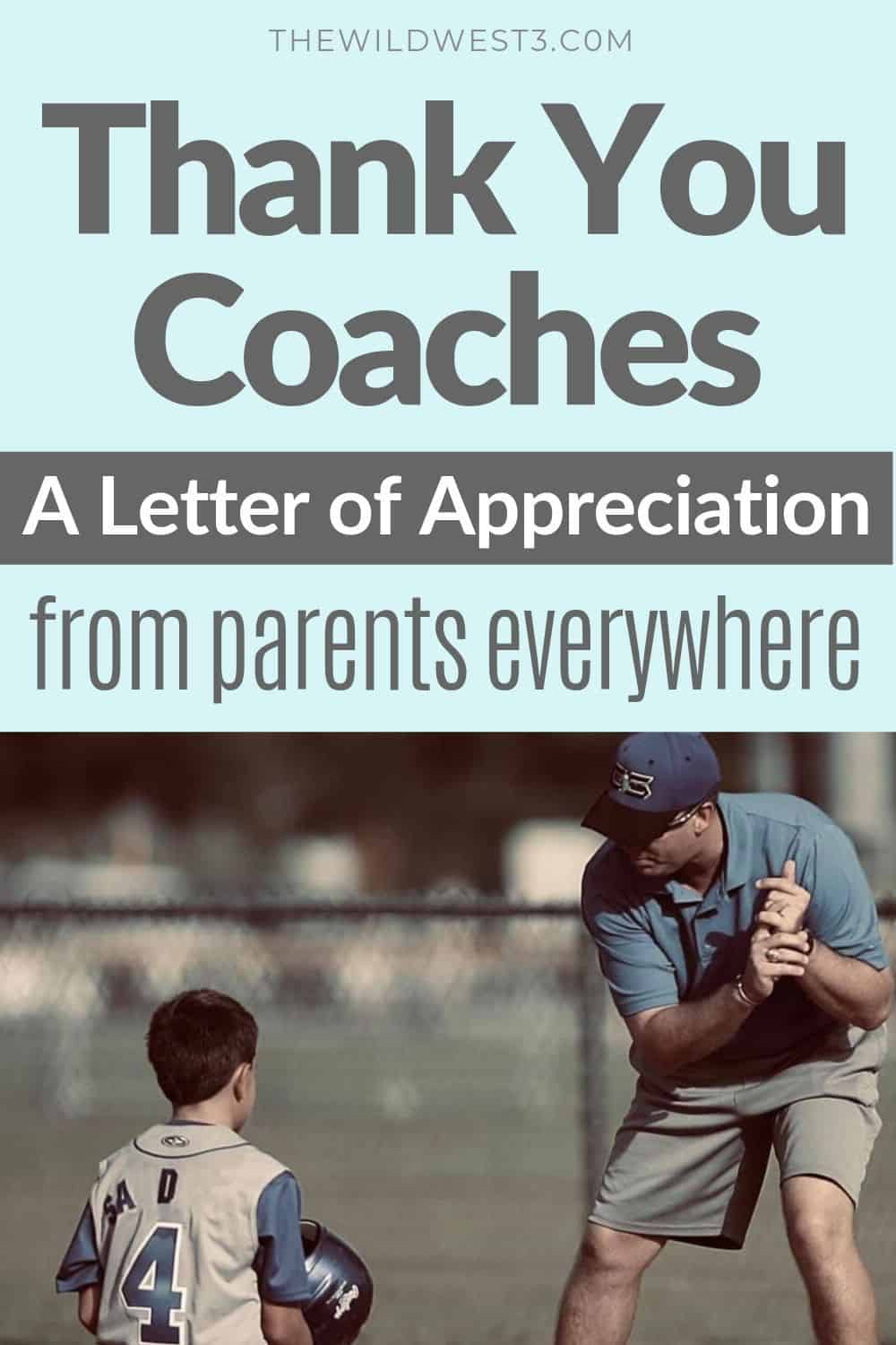 Thank you letter to coach from parents pin image