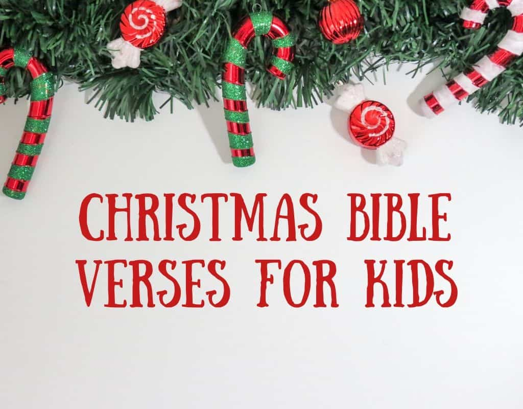 Christmas Bible Verses for Kids Featured Image