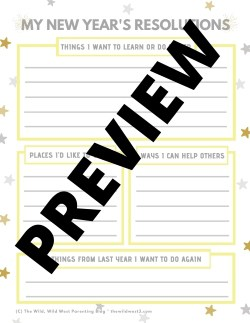 New Years Activity Packet - New Years Activities for Kids (1)