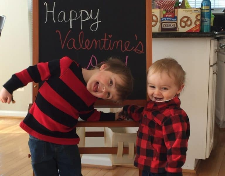 Valentine's Day Printable For Kids (Free) – I Love You Because…
