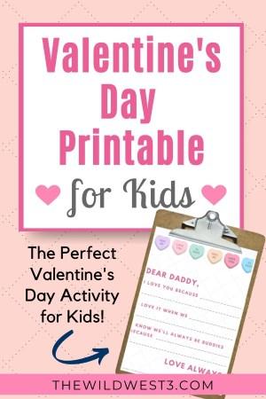 Valentine's Day Printable for Kids