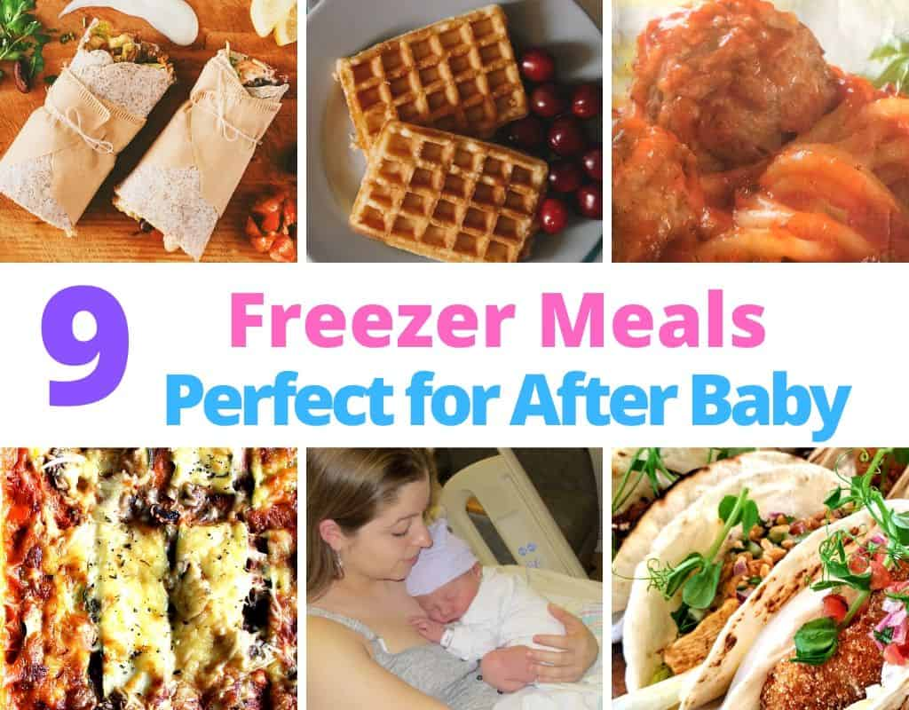 Freezing meals for after baby featured image