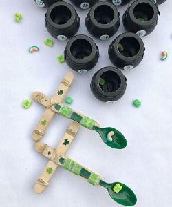 Leprechaun Catapult Kids Activity for St. Patrick's Day