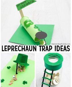 Leprechaun Trap Kids Activity for St. Patrick's Day