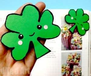 Shamrock Bookmark St. Patrick's Day Activity