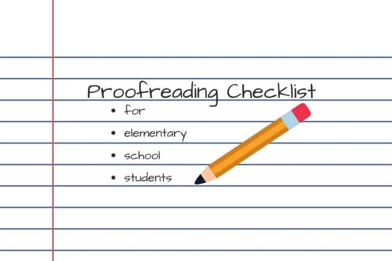Proofreading Checklist for Students Printable – A Helpful Editing Tool