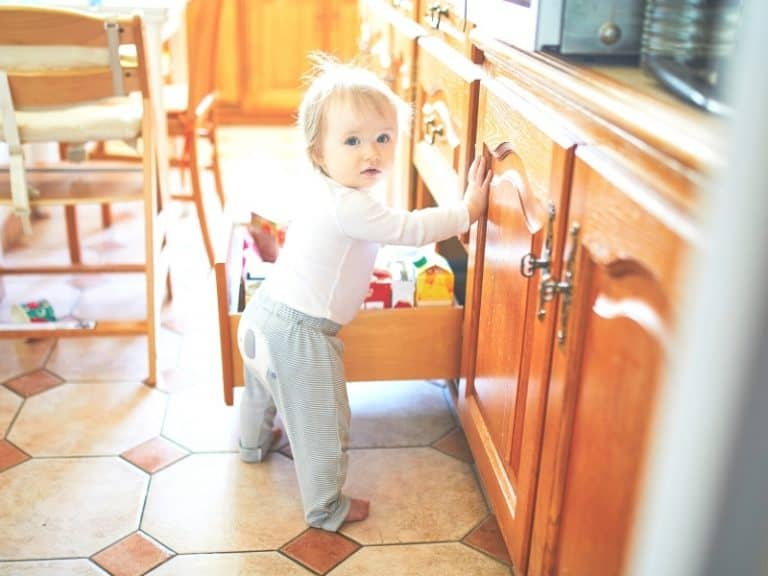 Toddler Proofing Your Home? Bahahahaha, Good Luck With That!