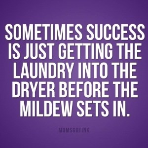 funny laundry meme about mildew in the washer