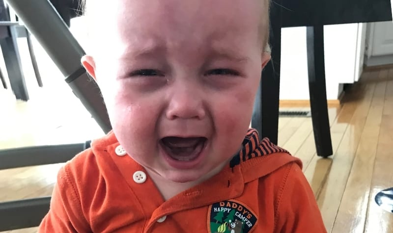 A crying baby with a difficult temperament featured image