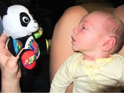 what to do with a one month old baby all day activity